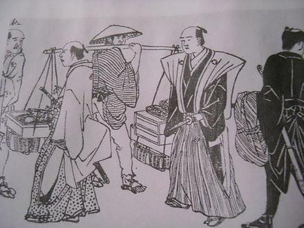 江戸時代の武士の仕事