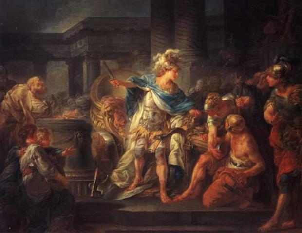 アレキサンダー大王の伝説