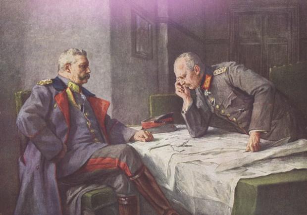 ヒンデンブルグとルーデンドルフ