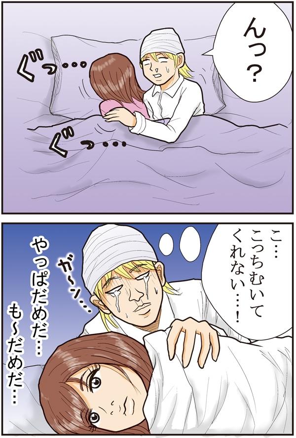 ベッドの中の集中【漫画~キヒロの青春】㉕