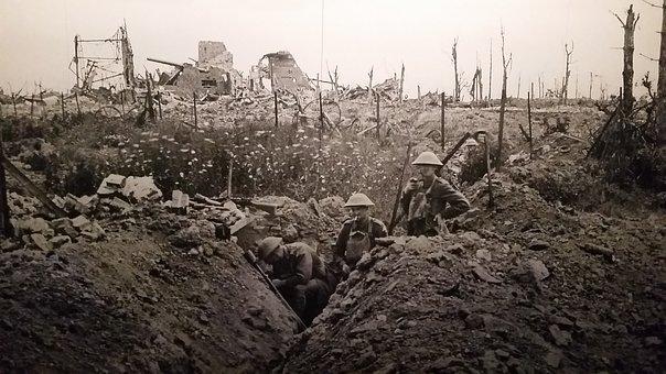 第一次世界大戦・地上の主力は大砲だった【WW1シリーズ】