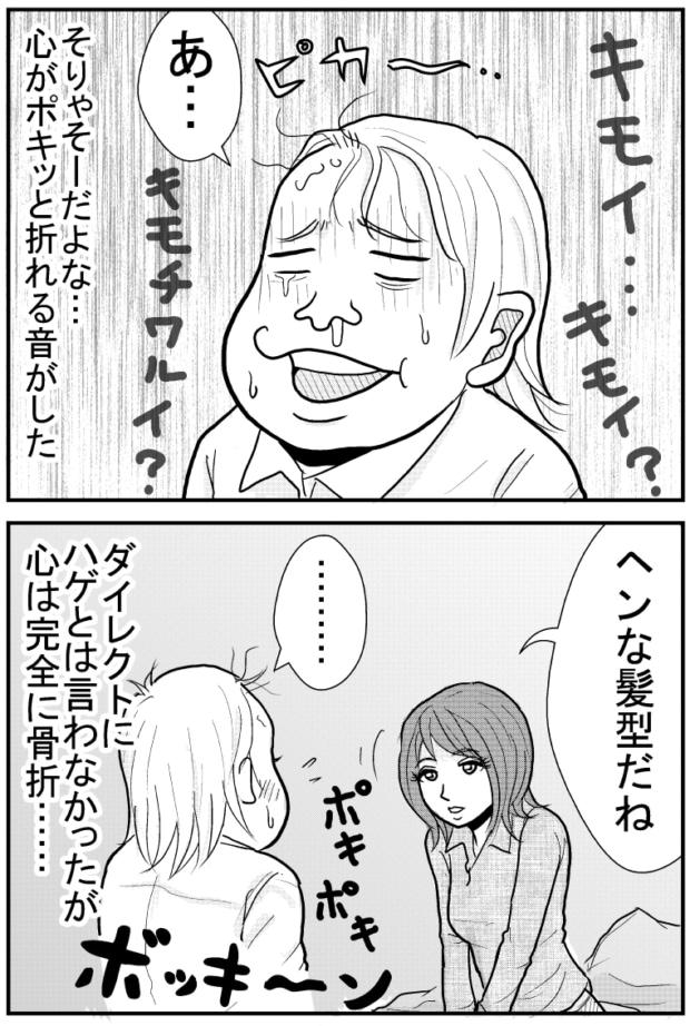キモい男【漫画~キヒロの青春】㉟