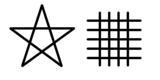 畿内の大五芒星