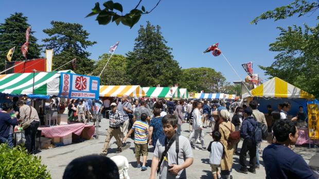 小田原の松原神社例大祭に行ってきた