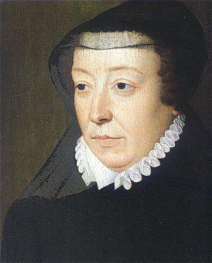 残虐な王妃として名高い カトリーヌ・ドゥ・メディシス