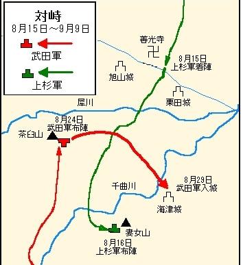 第4次 川中島の戦い~武田家必勝の布陣!