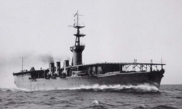 空母として設計され完成した世界初の軍艦・鳳翔