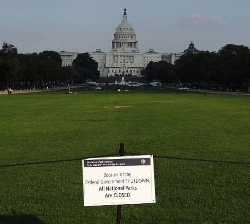 政府閉鎖の影響(政府職員に関して)について調べてみた