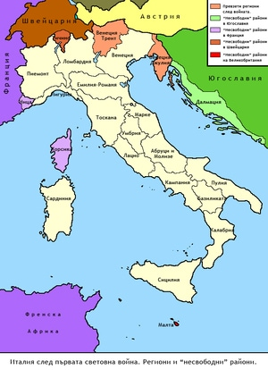 イタリアの統一について調べてみた