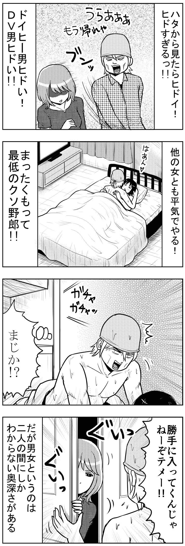 ドイヒーDV男【漫画~キヒロの青春】74