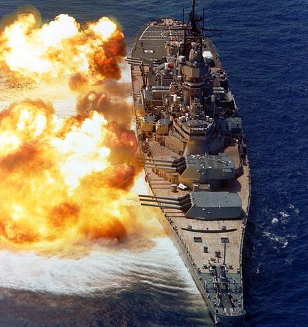 アイオワ級戦艦【アメリカ海軍史上最大にして最後の高速戦艦】