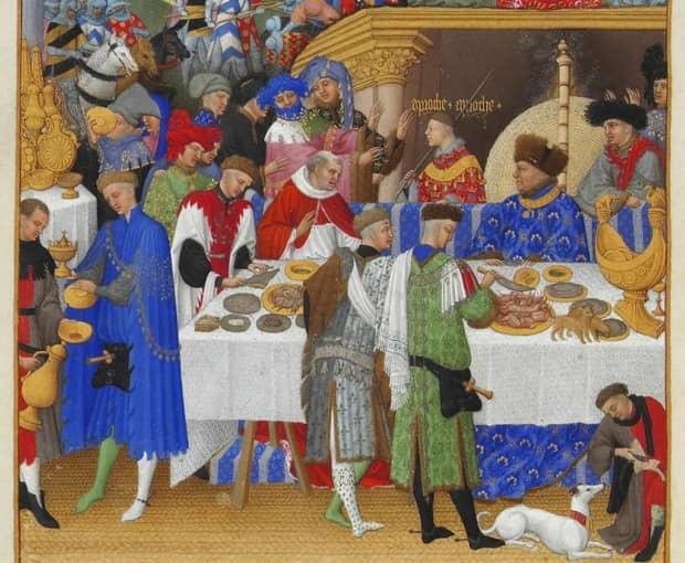 「中世ヨーロッパ、貴族の食事、農民の食事」を調べてみた