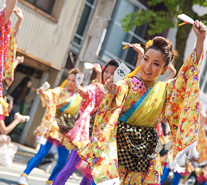 原宿表参道元氣祭・スーパーよさこいとは【よさこい祭りの歴史】