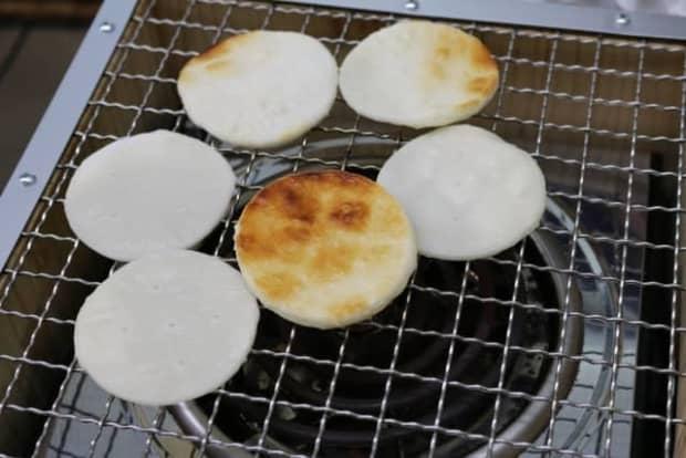 煎餅の作り方