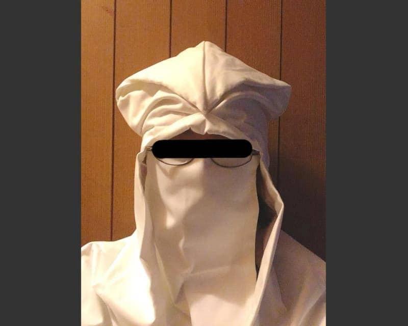 あの戦国武将が着用していた白頭巾、まさかの乾燥対策に最適だった