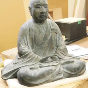 杉山和一像 見つかる 管鍼法の祖「文化財級の価値」