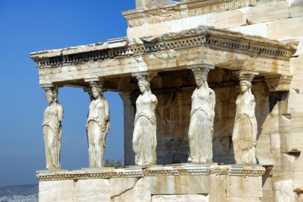 パルテノン神殿にある像