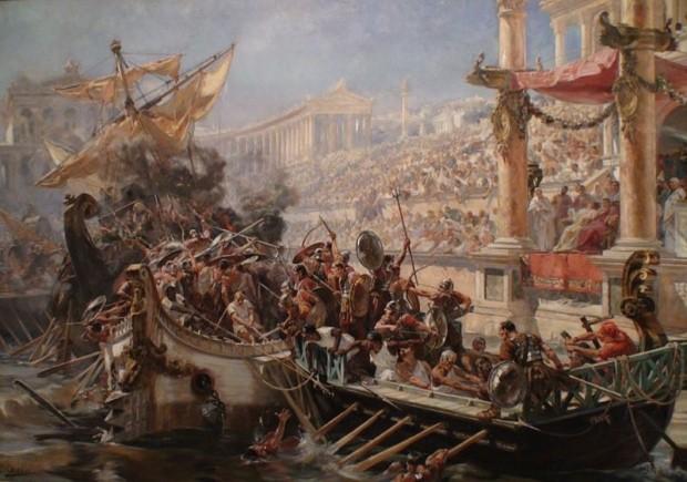 コロッセオで行われていた残虐な催し