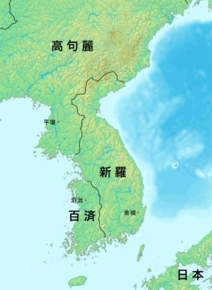 白村江の戦い